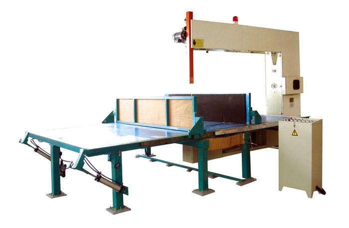 YAVC-4L sponge automatic straight cutting machine