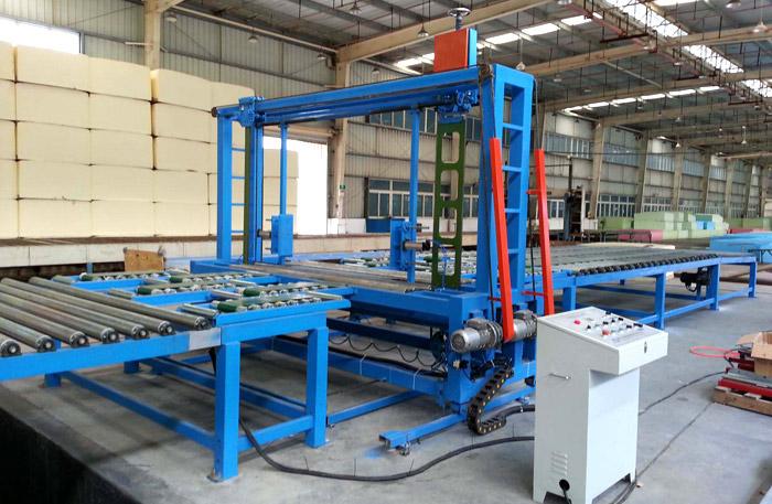 Automatic sponge continuous foaming production line